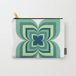 blue and yellow pattern Carry-All Pouch