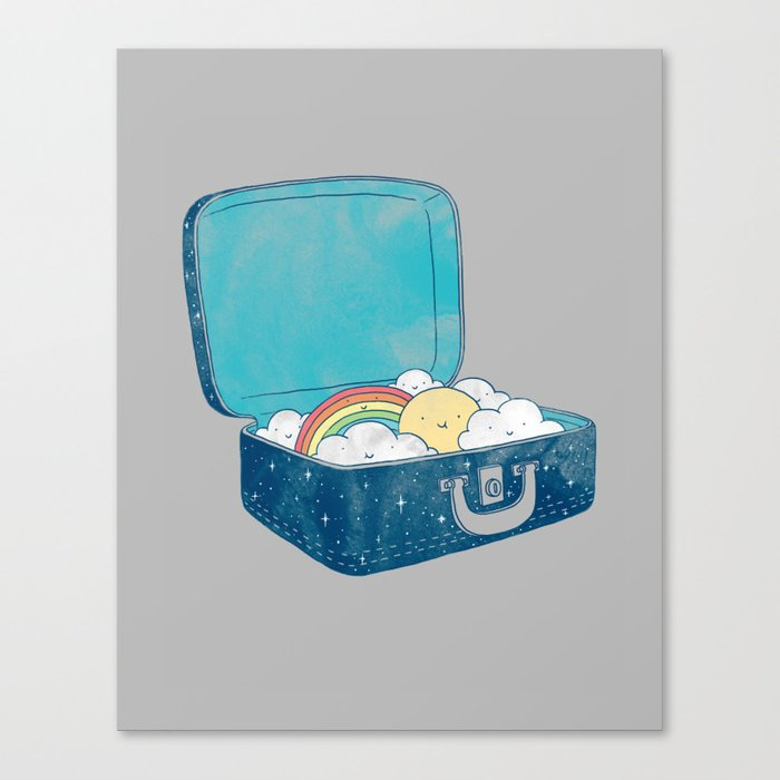 Always bring your own sunshine Canvas Print