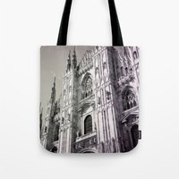milan Tote Bags featuring Milan by very giorgious