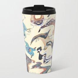 Skewed Birds Metal Travel Mug