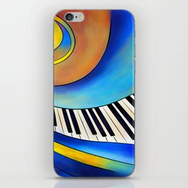 Redemessia - spiral piano iPhone Skin
