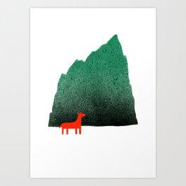 Man & Nature - Island #1 Art Print