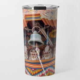 Bell in Punakha Dzong - Bhutan Travel Mug