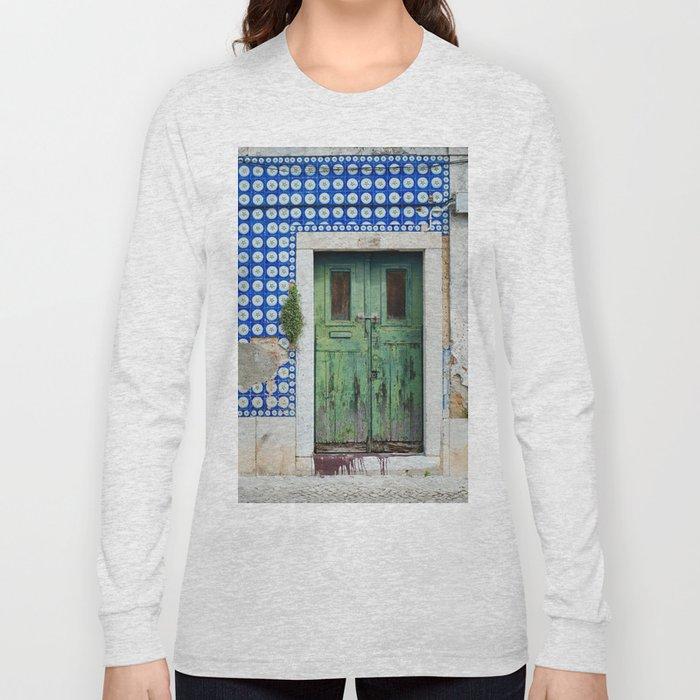 DOOR, LISBON, PORTUGAL Long Sleeve T-shirt