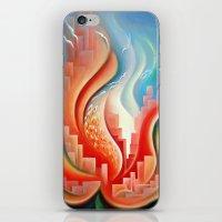 Hibiscus City iPhone & iPod Skin