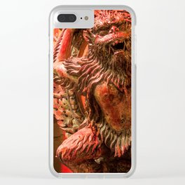 Mountain Monster Clear iPhone Case