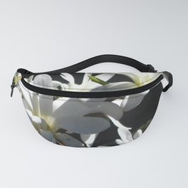 WHITE LILY Fanny Pack