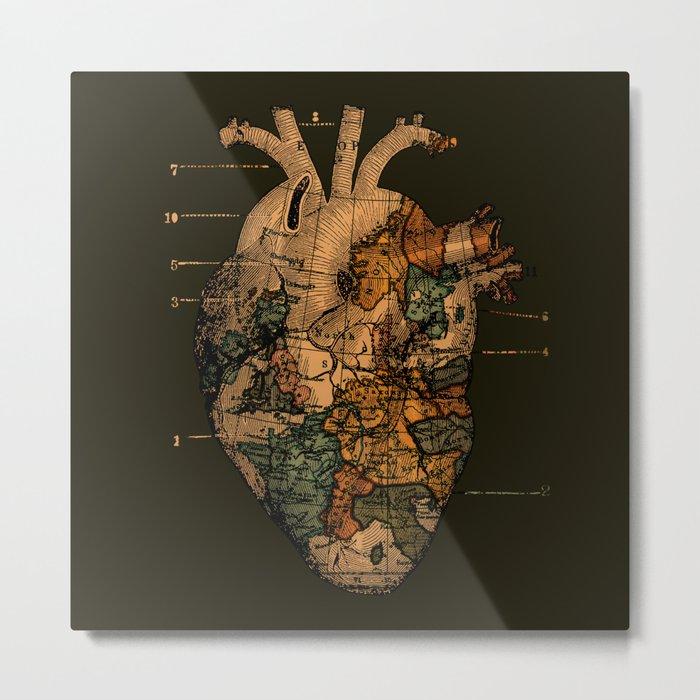 I'll Find You (Dark Brown) Metal Print