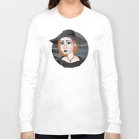 ginger Long Sleeve T-shirts featuring Ginger by Julia Kolos