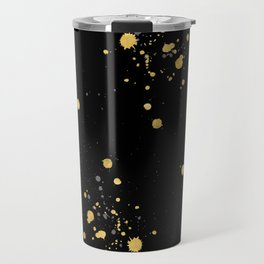Golden Splats Travel Mug