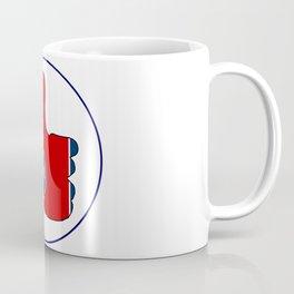 Thumbs Up Tennessee Coffee Mug