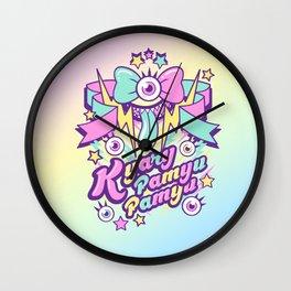 Kyary Pamyu Pamyu Print B Wall Clock