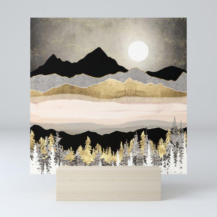 Winter Moon Mini Art Print