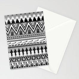 WHISKY AZTEC B/W  Stationery Cards