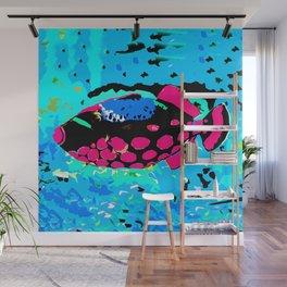 Clown Trigger Fish Wall Mural