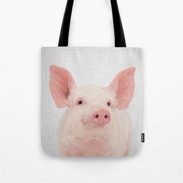 Pig - Colorful Tote Bag