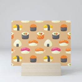 Sushi Yes Please Mini Art Print