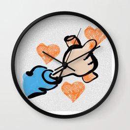 Drawing Love Wall Clock