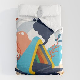 Lost Crystal Comforters