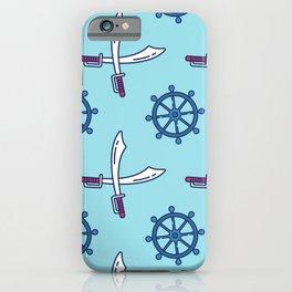 Pirates Elements Pattern  iPhone Case