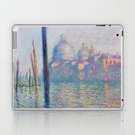Le Grand Canal by Claude Monet Laptop & iPad Skin