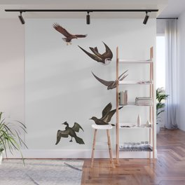 Holding Pattern Wall Mural