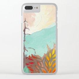 Kootenay Wild Fire Clear iPhone Case
