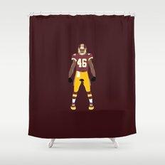 HTTR - Alfred Morris Shower Curtain