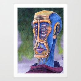 8 Eight Eyes Art Print