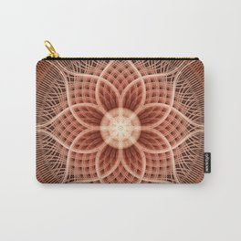 Trance Lotus Mandala Carry-All Pouch