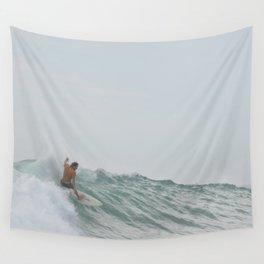 morning surf Wall Tapestry