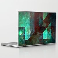 rothko Laptop & iPad Skins featuring Emerald Nebulæ  by Aaron Carberry
