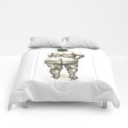 Woman in Shower Comforters