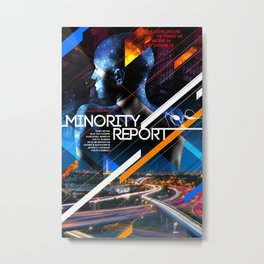 Visions of the Future :: Minority Report Metal Print