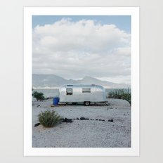 Mexicoast Trailer Life Art Print