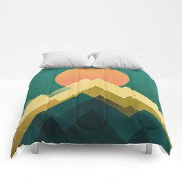 Gold Peak Comforters