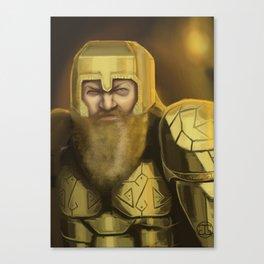 Scowl Canvas Print