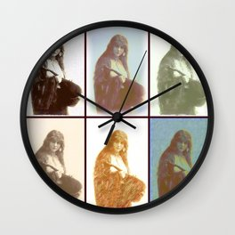 Gypsies 6 Wall Clock