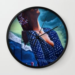 """The ultimate seduction of Mary"" Wall Clock"