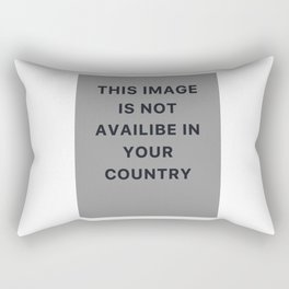 This image is not available in your country Rectangular Pillow