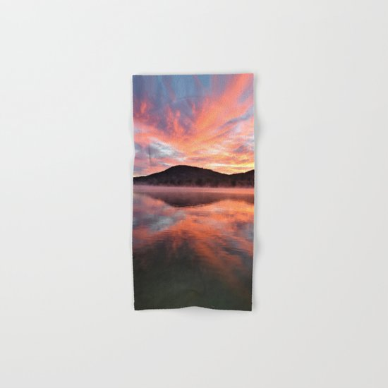 Sunrise: Fire and Water Hand & Bath Towel