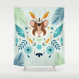 Hamsti Shower Curtain