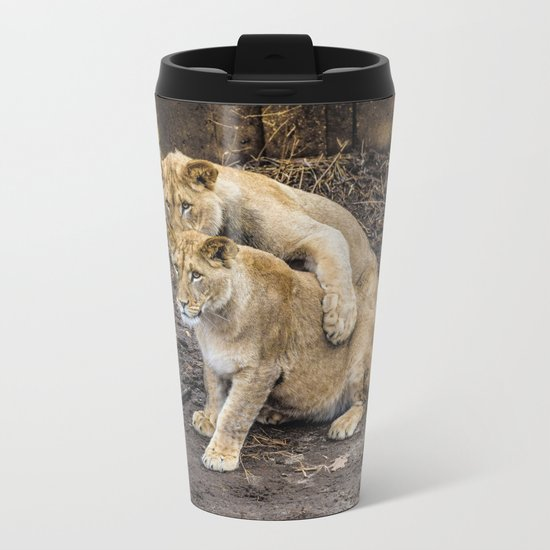 I Got Your Back, Bro! Metal Travel Mug