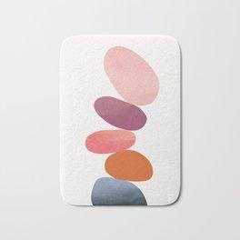 Balancing Stones 23 Bath Mat