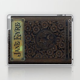 Jane Eyre by Charlotte Bronte, Vintage Book Cover Laptop & iPad Skin