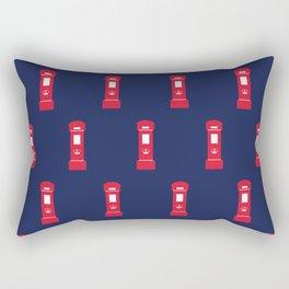Red British post box Rectangular Pillow