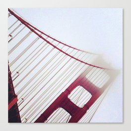 Day Fifty: It Had to be You! Golden Gate Bridge Canvas Print