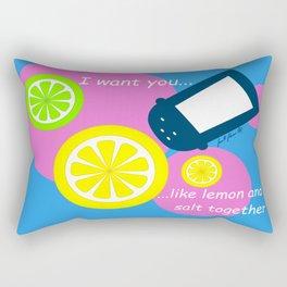 Lemon and Salt Rectangular Pillow