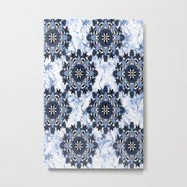 Swirl Wash Metal Print