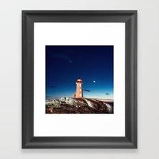 Light Keeper's Home Framed Art Print